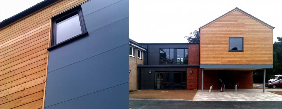 BEECHFIELD MEDICAL CENTRE, SPALDING . Detail Shot